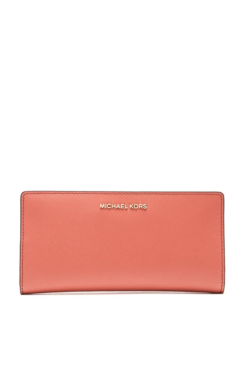 женский кошелёк michael kors, оранжевый