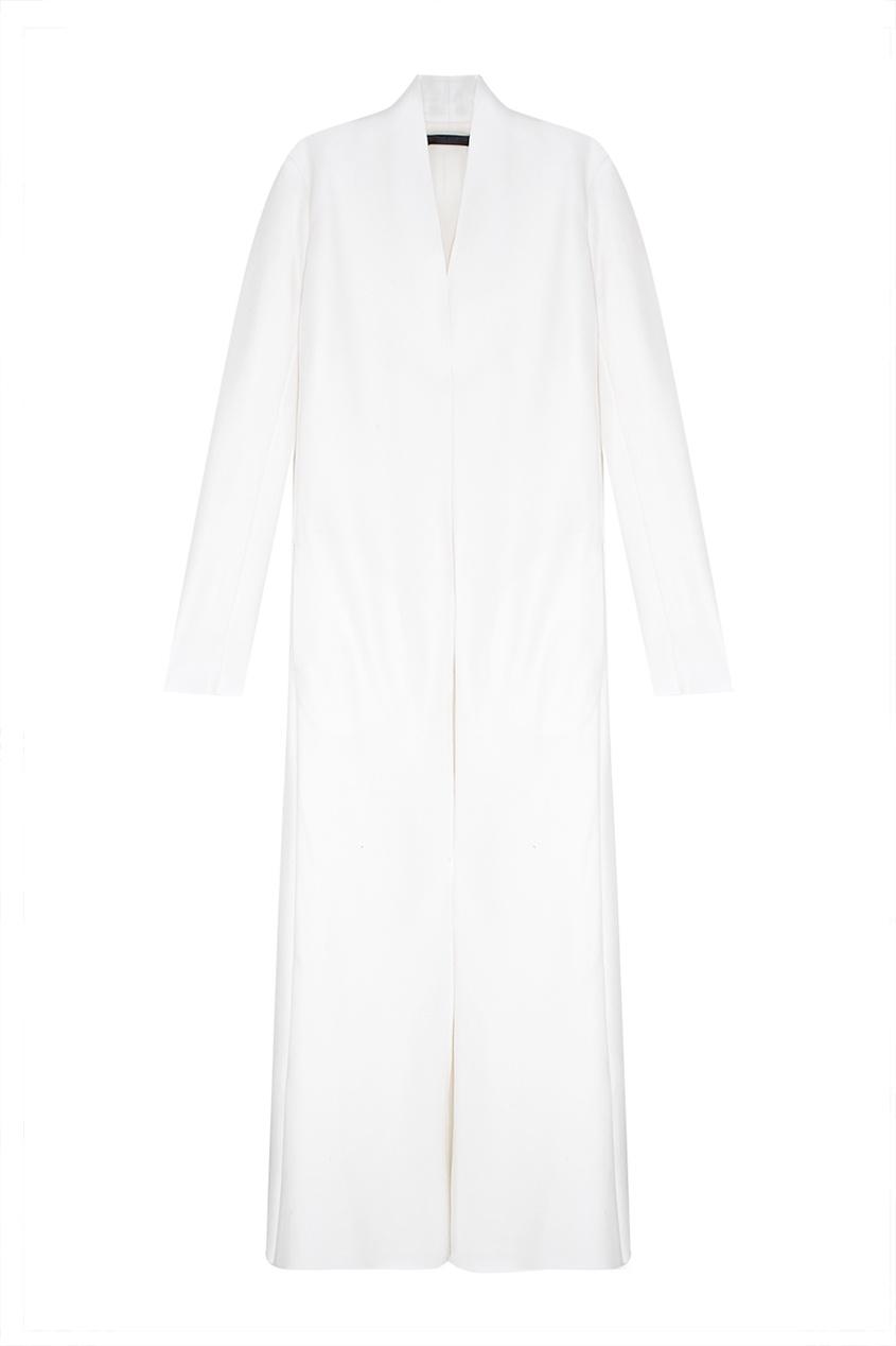Пальто из шерсти и шелка Nalaton