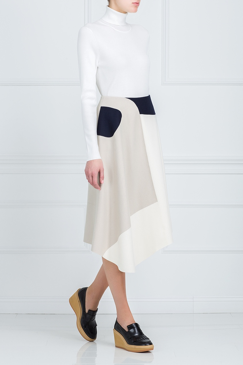 Tibi Шерстяная юбка