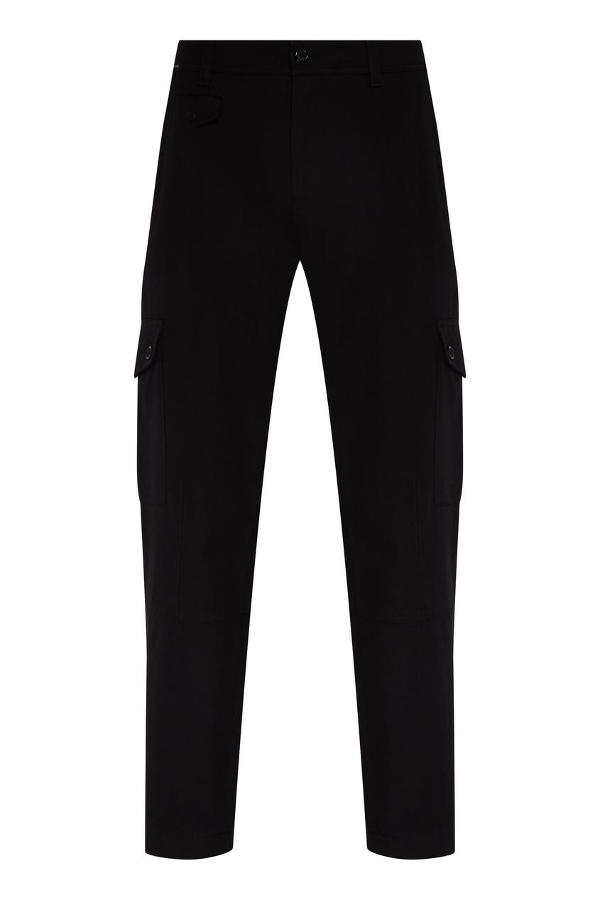 мужские брюки dolce & gabbana, черные