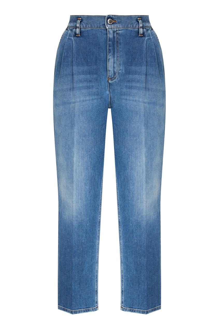 женские джинсы red valentino, синие
