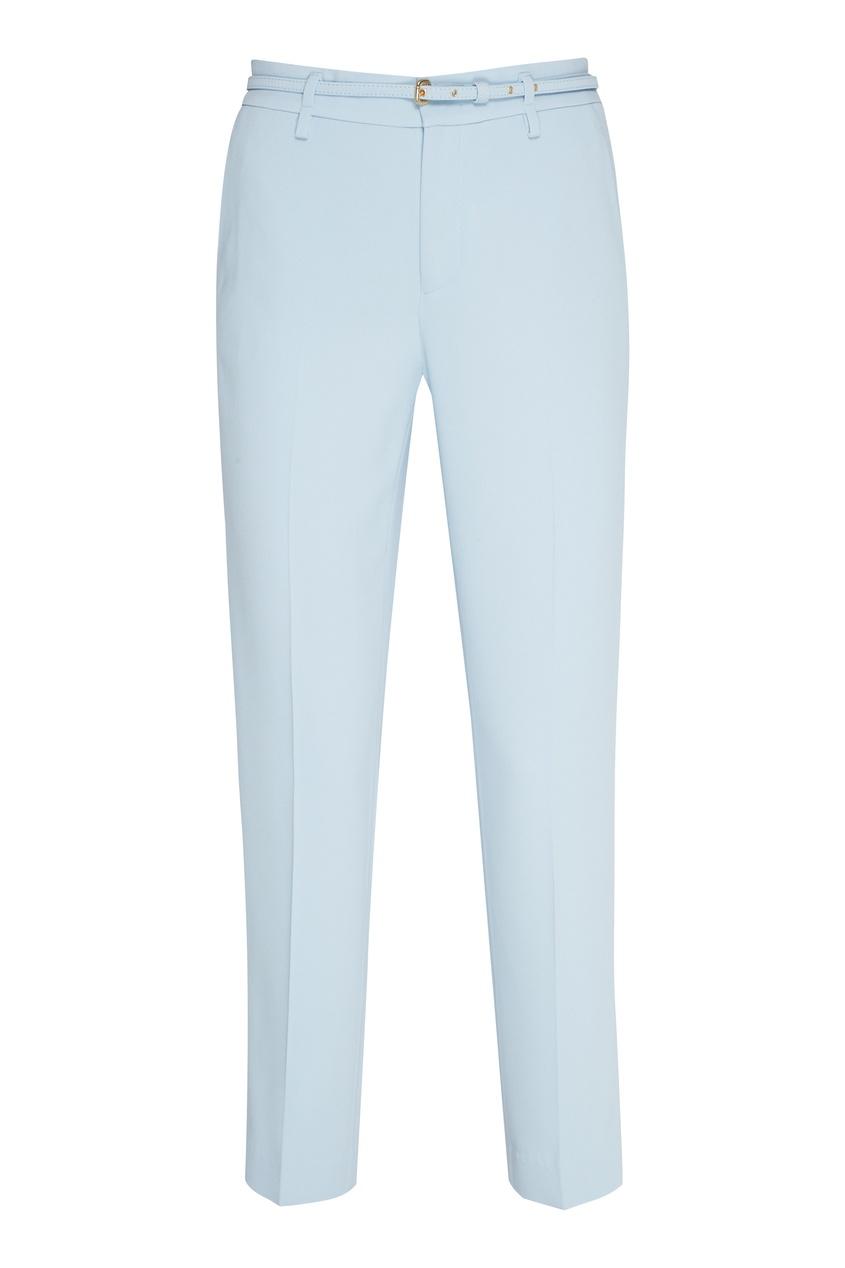 женские брюки red valentino, голубые