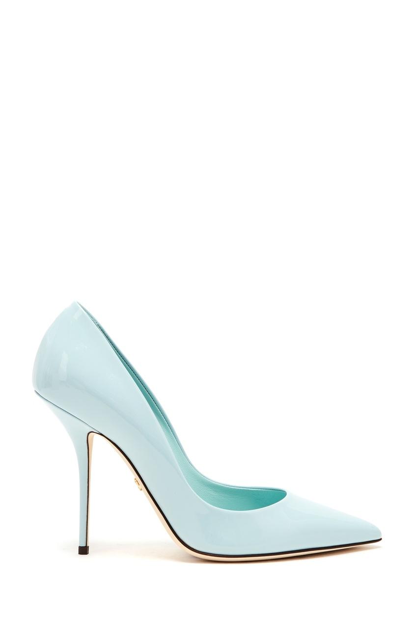 женские туфли dolce & gabbana, голубые