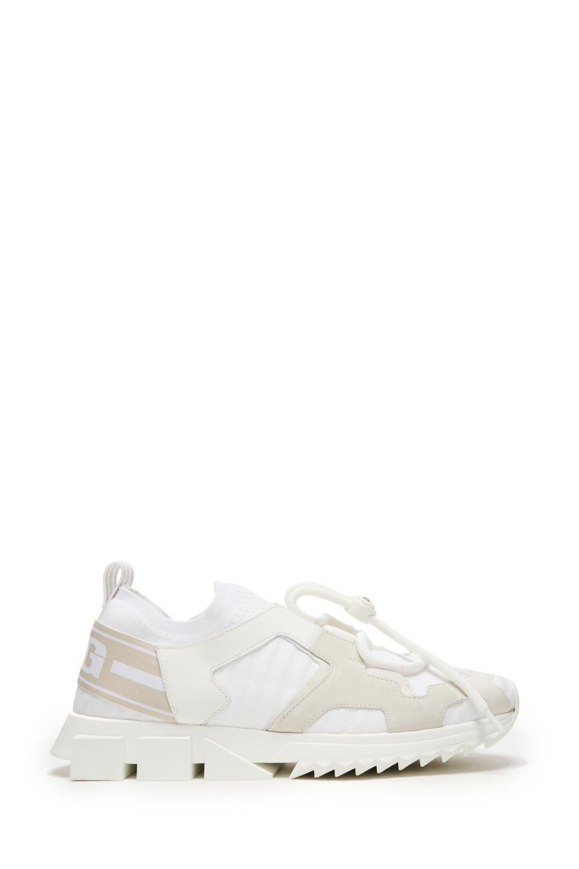 женские кроссовки dolce & gabbana, белые