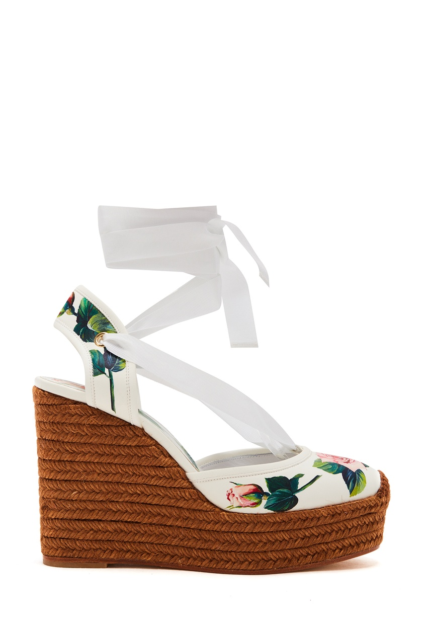 женские туфли на танкетке dolce & gabbana