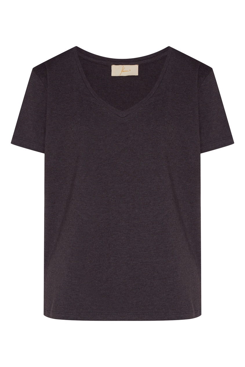 женская футболка с принтом yana dress, серая