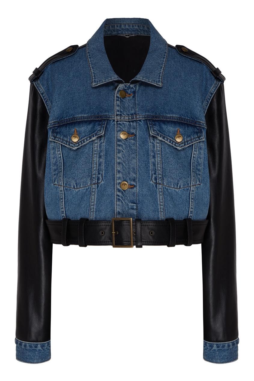 женская джинсовые куртка yana dress, синяя