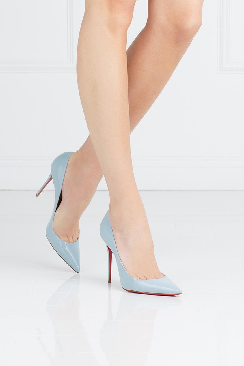 Туфли из лакированной кожи Decollete 554 100