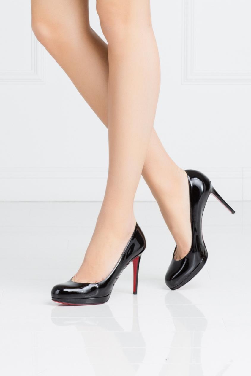 Туфли из лакированной кожи New Simple Pump 100
