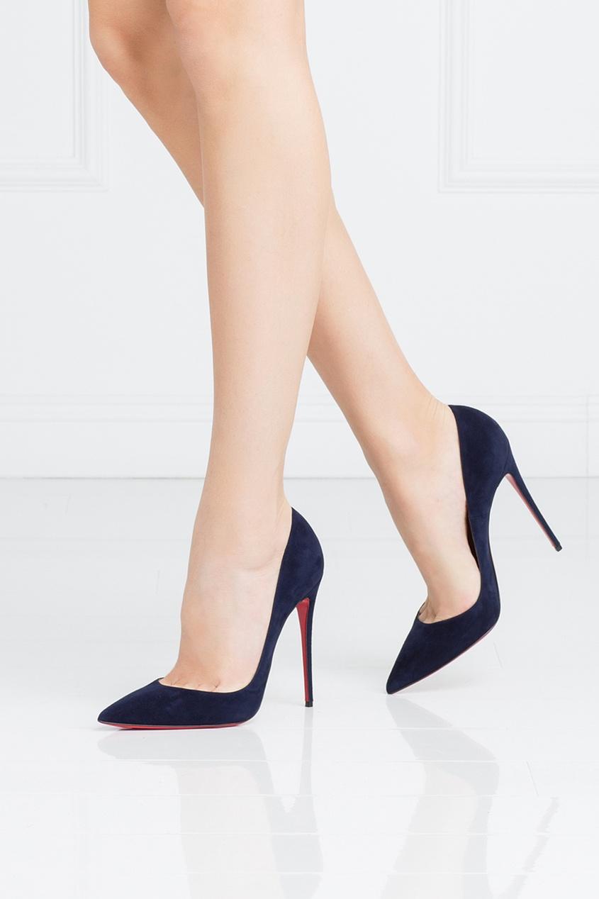Замшевые туфли So Kate 120