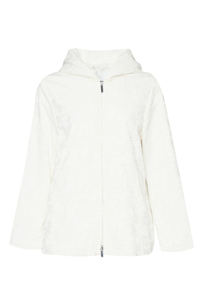 женская куртка marina rinaldi, белая