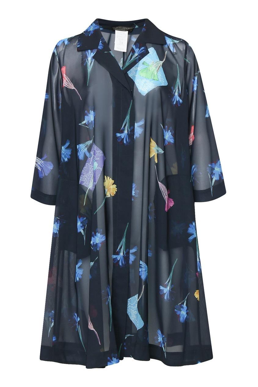 женское легкие пальто marina rinaldi, синее