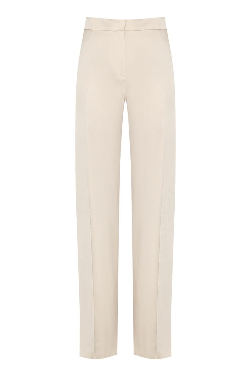 женские брюки marina rinaldi, бежевые