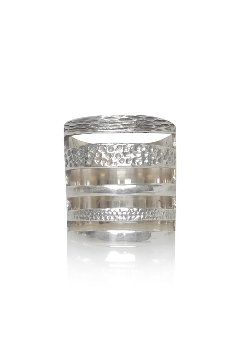 Pamela Love Серебряное кольцо pamela love серьги из латуни с золотым напылением