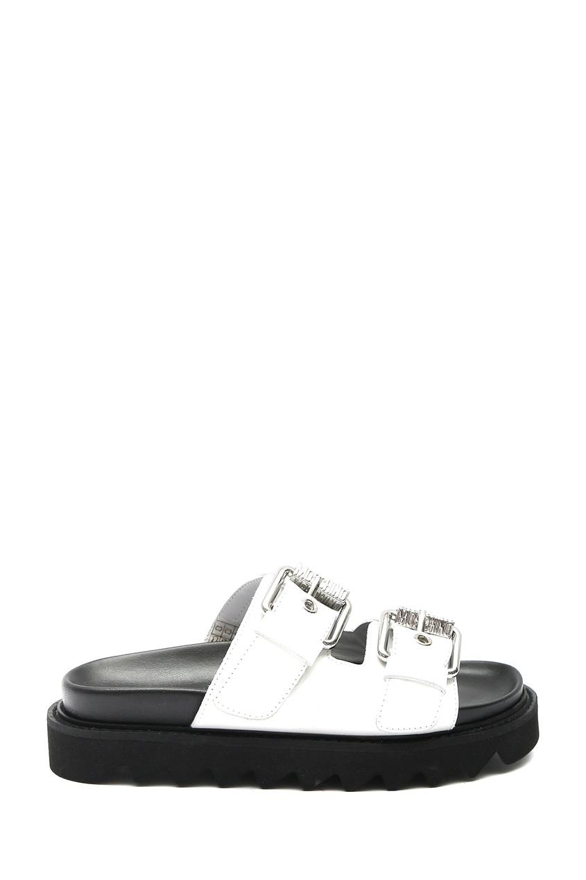 женские пантолеты moschino, белые