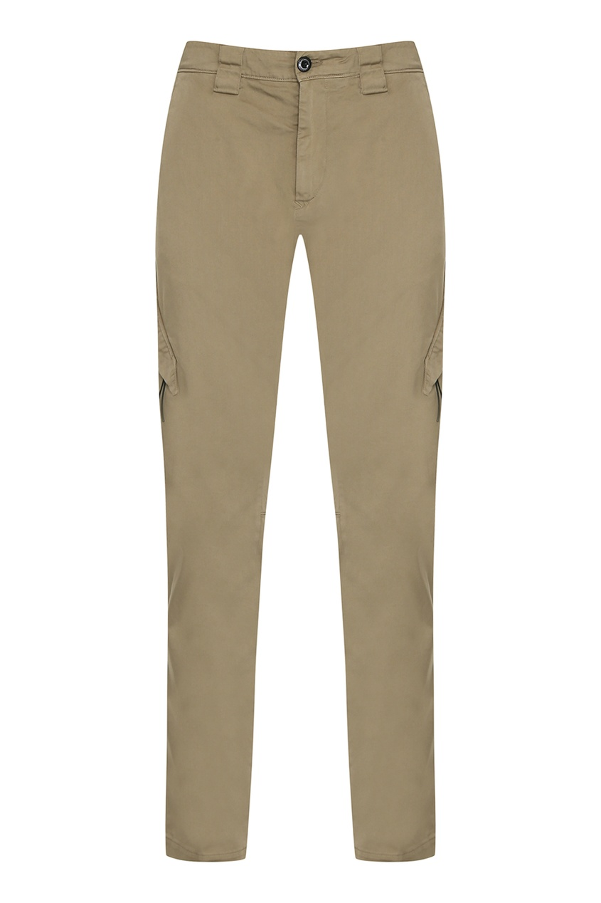 мужские брюки карго c.p. company, зеленые