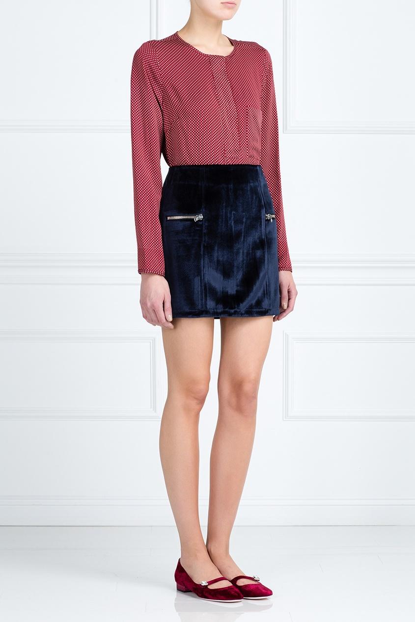 BZR by Bruuns Bazaar Однотонная юбка