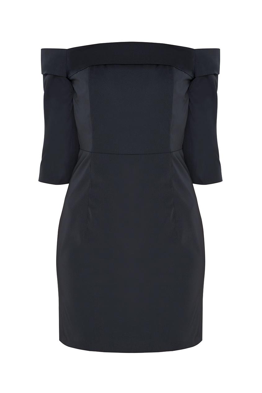 Однотонное платье Louise American Retro 30619484 черный фото