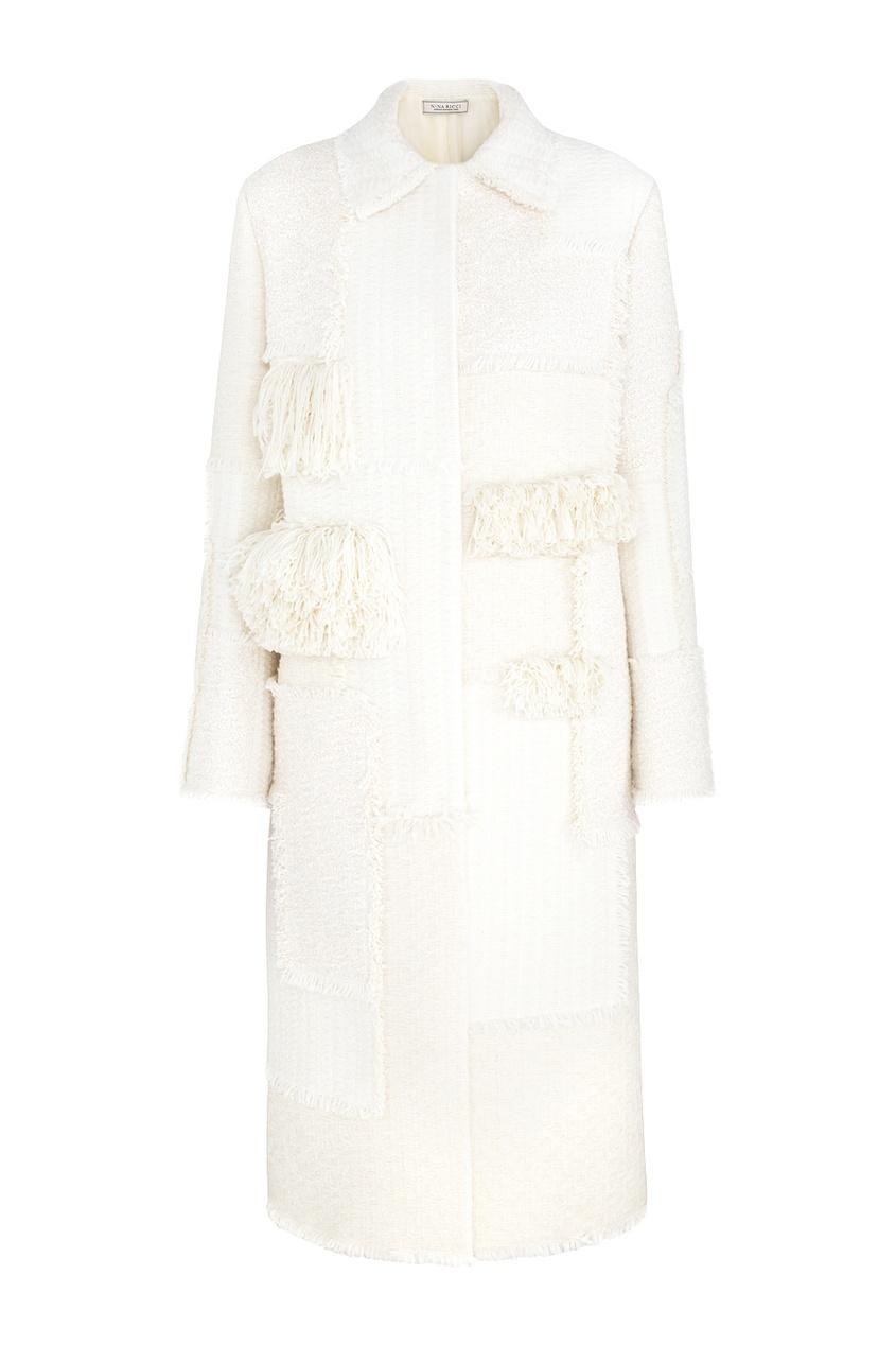 Nina Ricci Шерстяное пальто