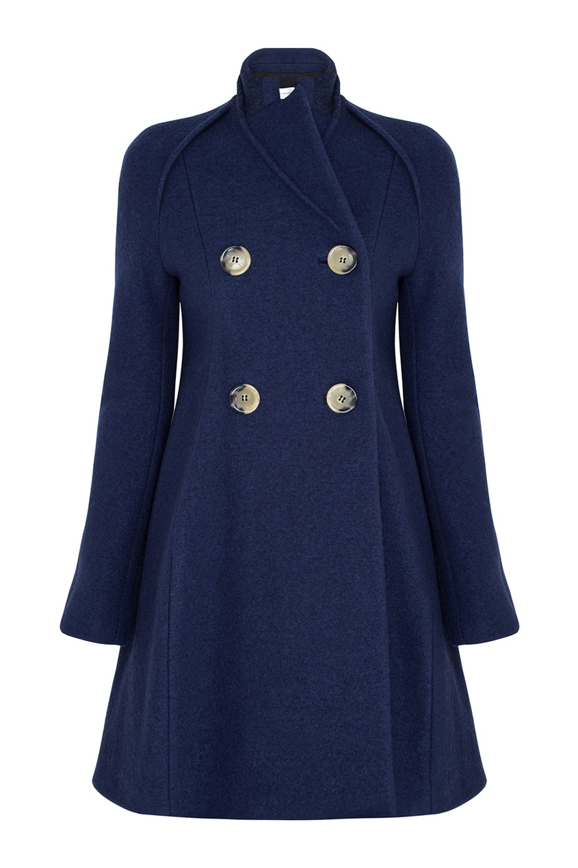 Victoria Beckham Шерстяное пальто