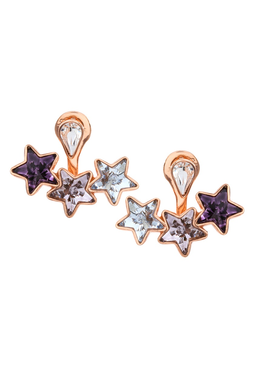 Ca&Lou Серьги из латуни с кристаллами