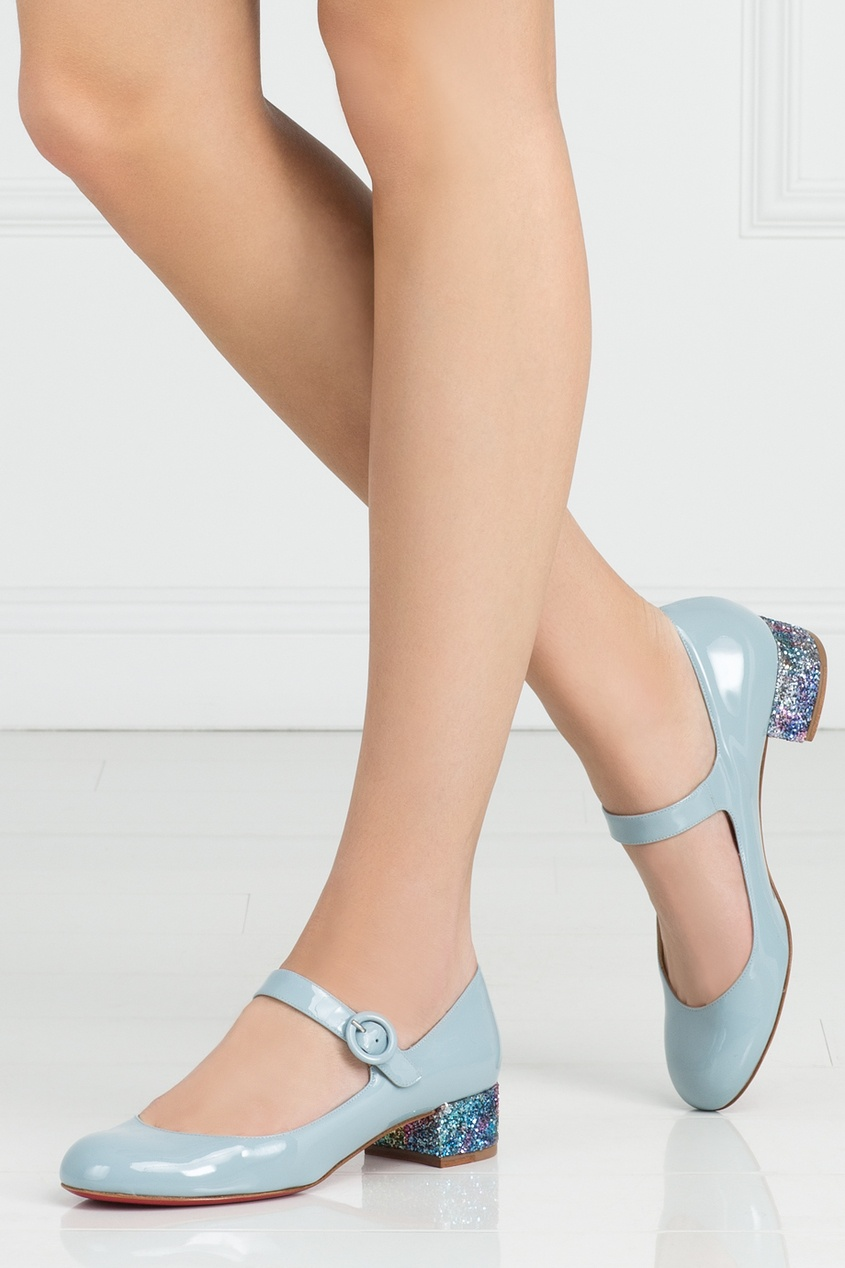 Туфли из лакированной кожи Dolly Birdy 30