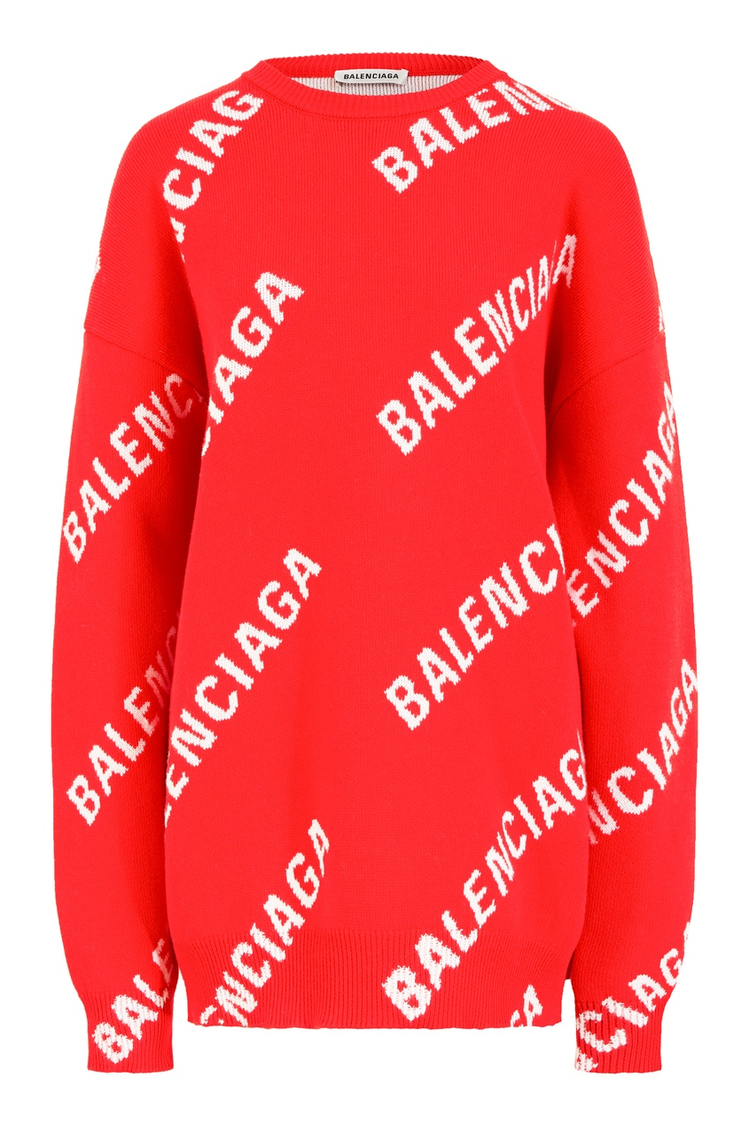 Красный хлопковый джемпер от Ralph Lauren Kids