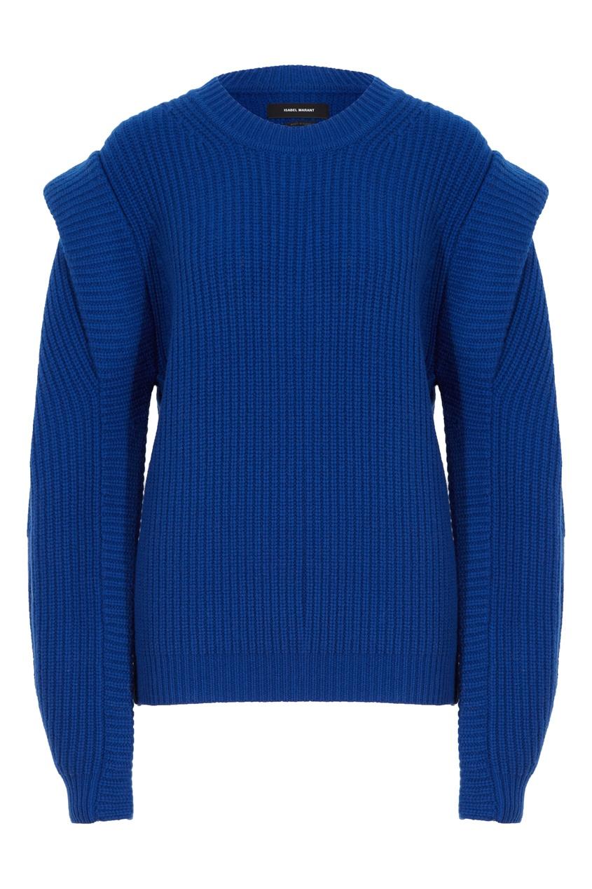 Синий свитер из шерсти Bolton