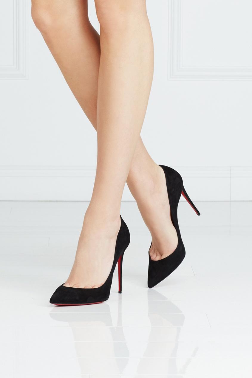 Замшевые туфли Pigalle Follies 100