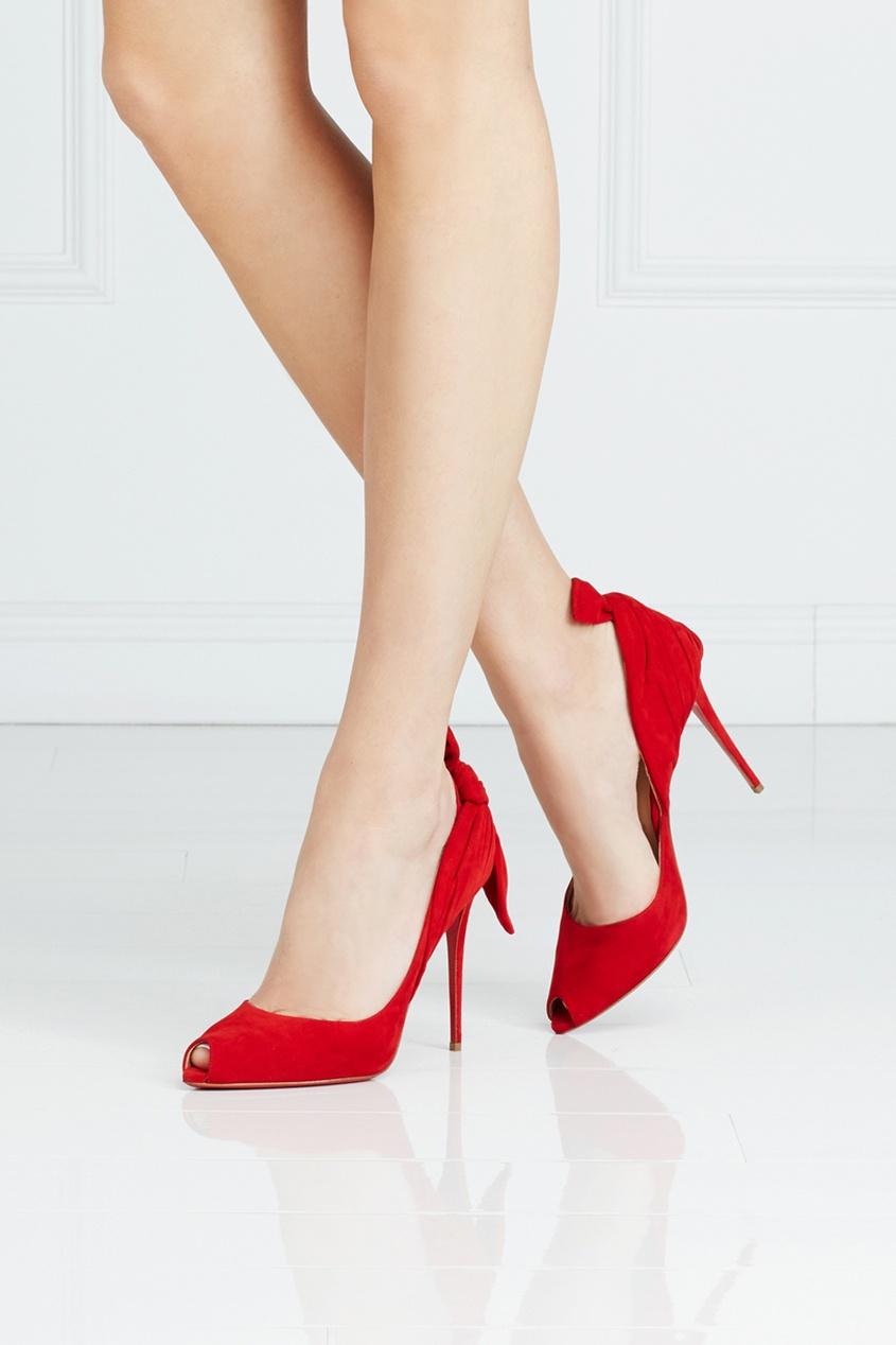 Замшевые туфли Barbara 100