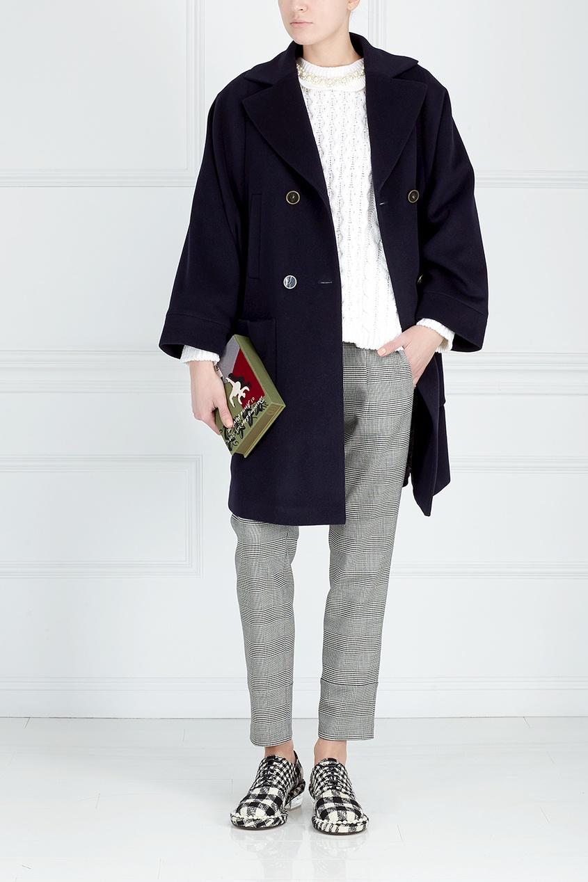 Victoria Andreyanova Пальто из шерсти и кашемира