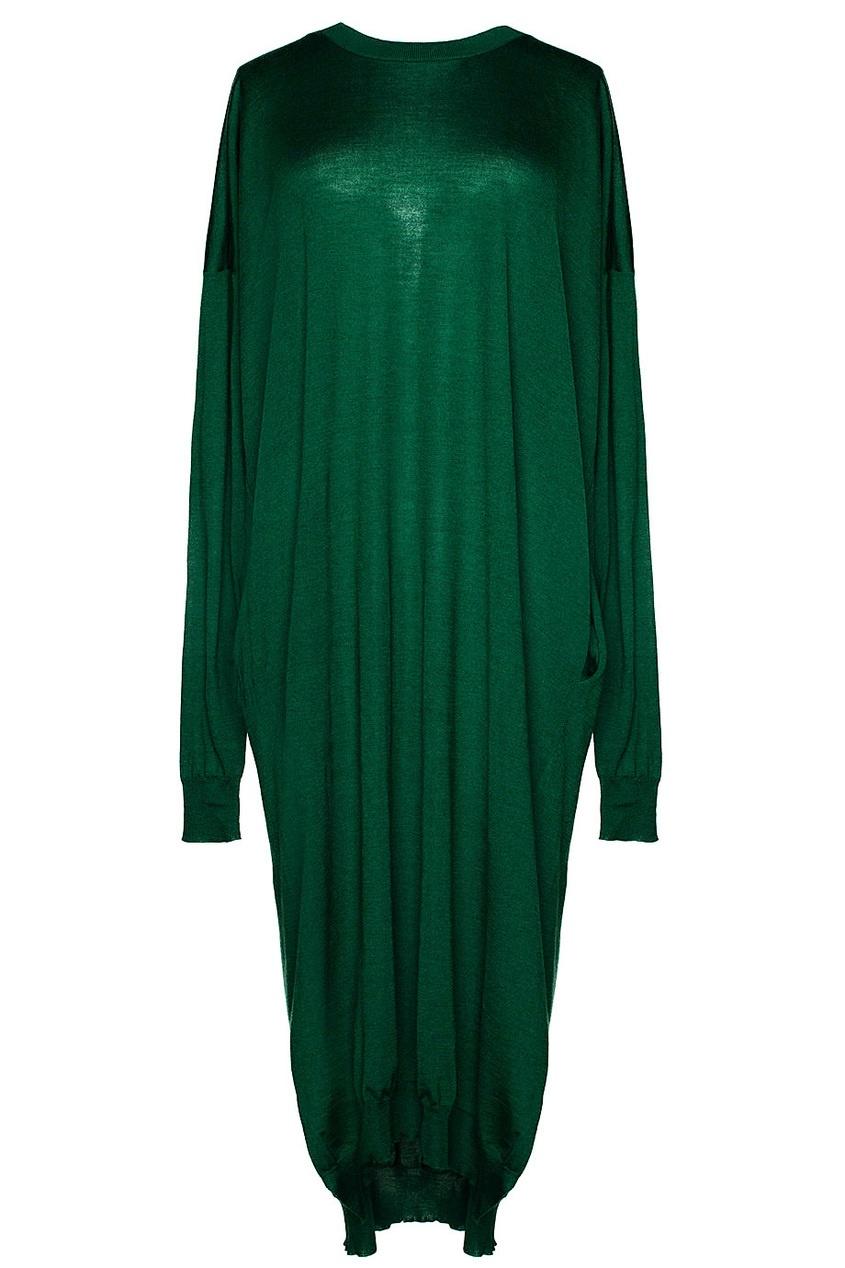 Платье из кашемира, шелка и шерсти