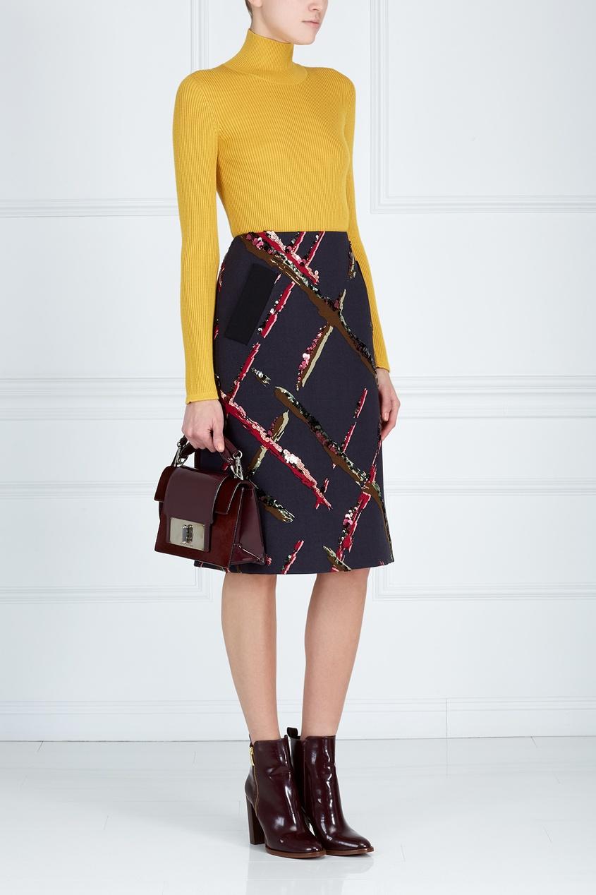 Marc Jacobs Шерстяная юбка