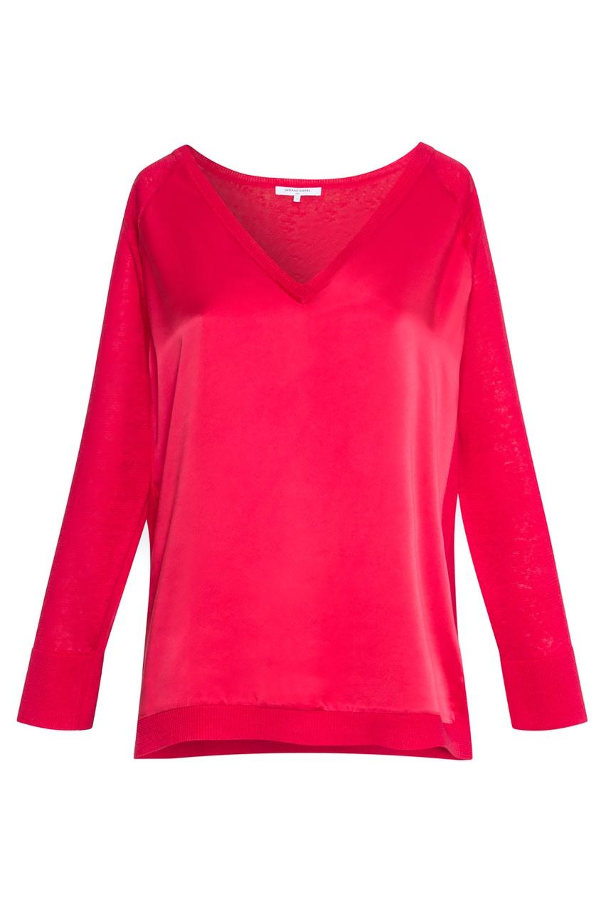 Красный пуловер Evanna