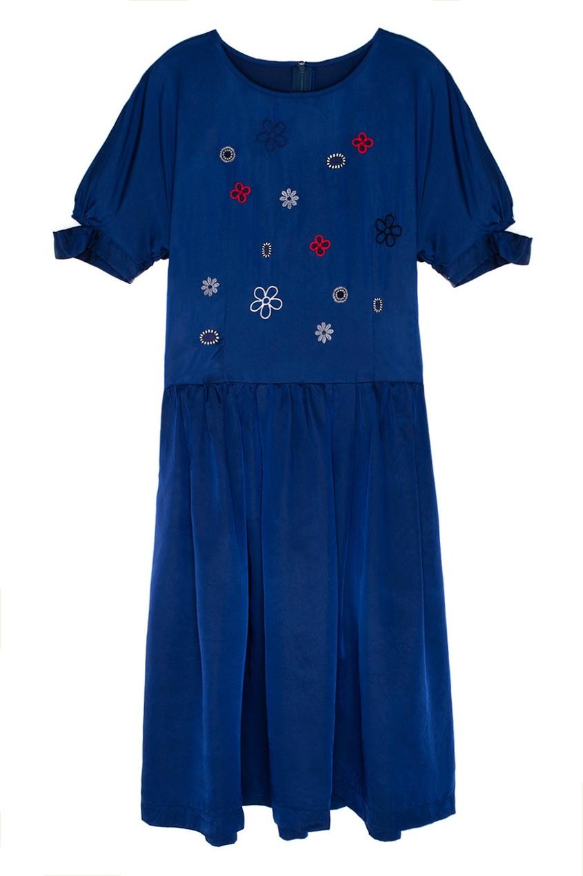 Comme Des Garcons Comme Des Garcons Платье с вышивкой