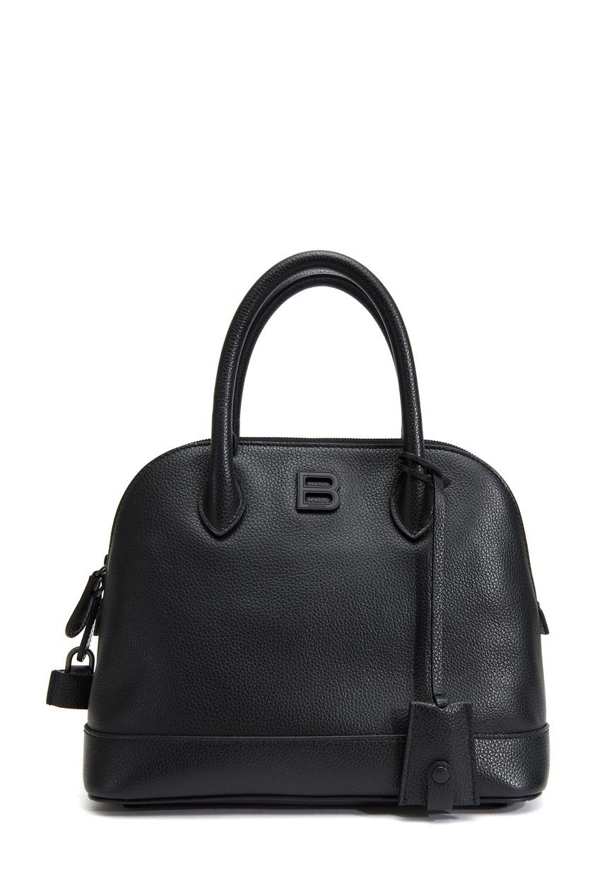 Черная кожаная сумка Ville Supple Small