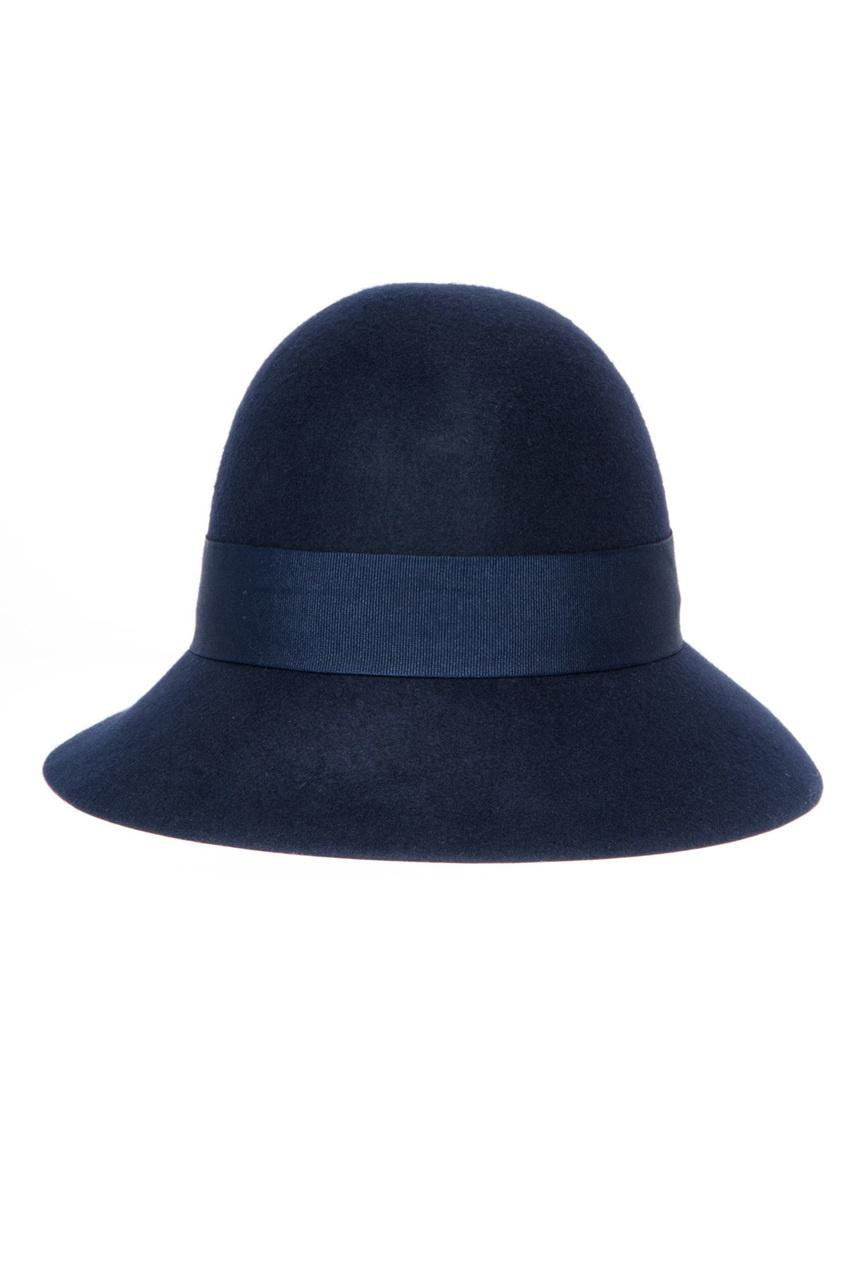 Шляпа-федора из шерсти
