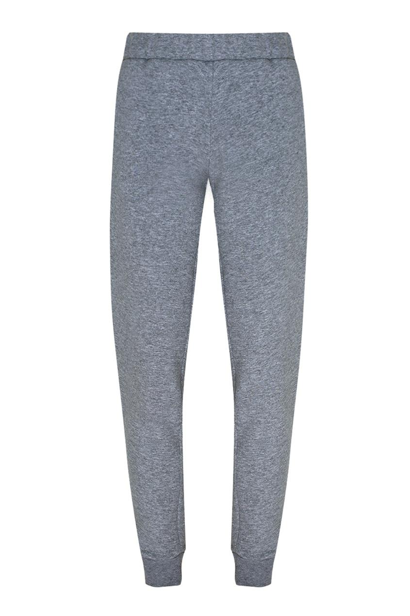Фото 5 - Хлопковые брюки от Katya Dobryakova серого цвета