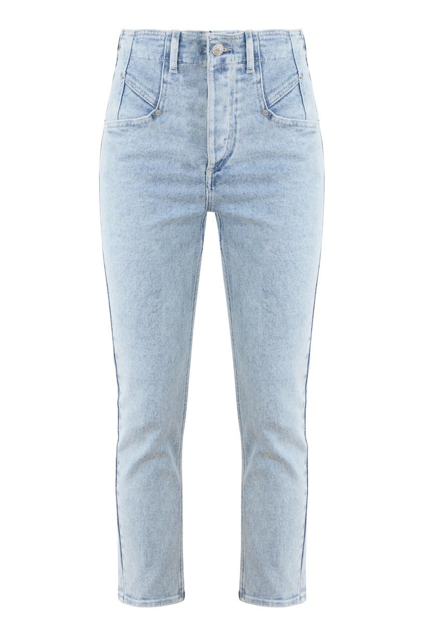 Голубые укороченные джинсы Dilianesr