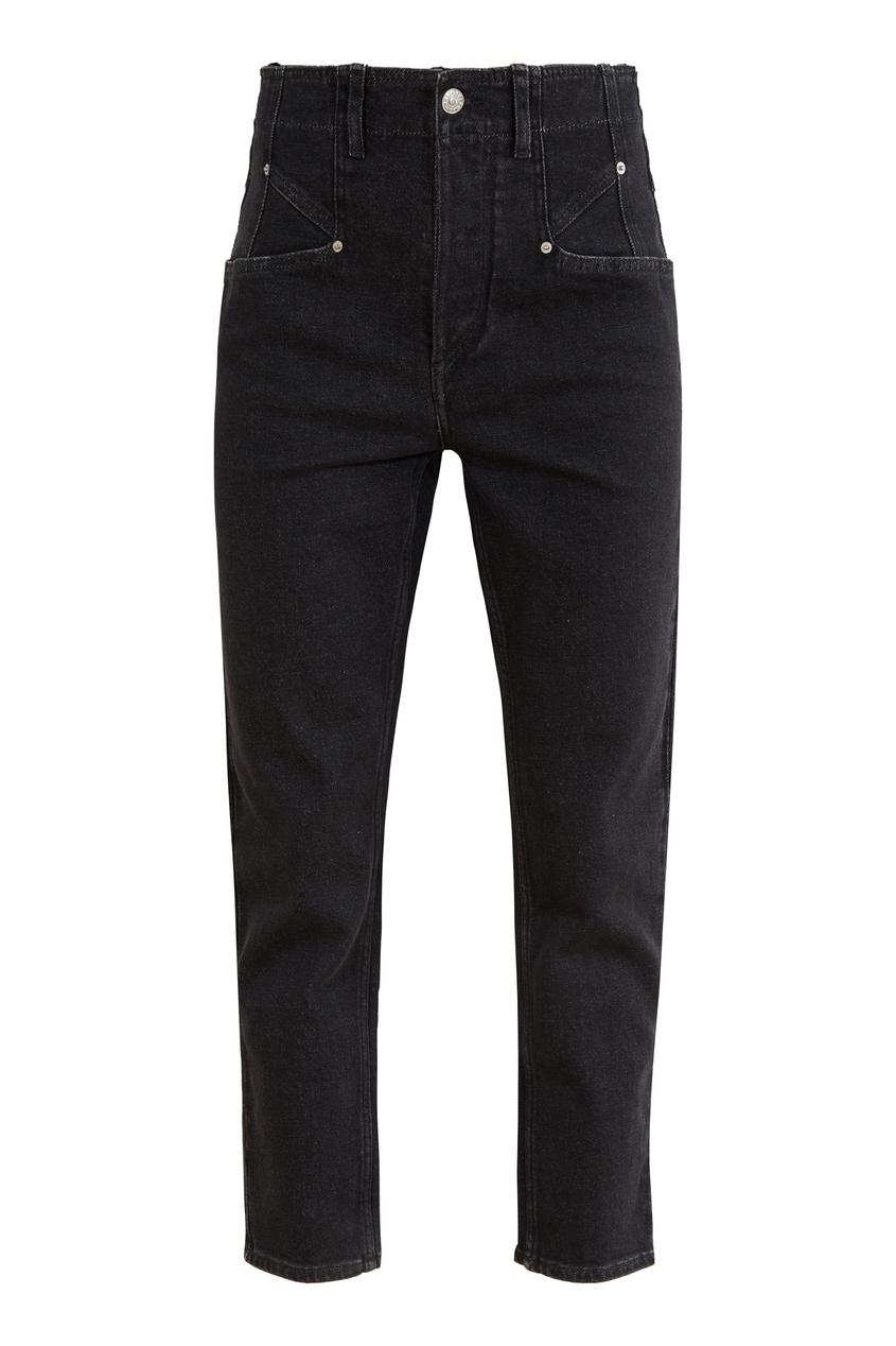 Черные укороченные джинсы Dilianesr