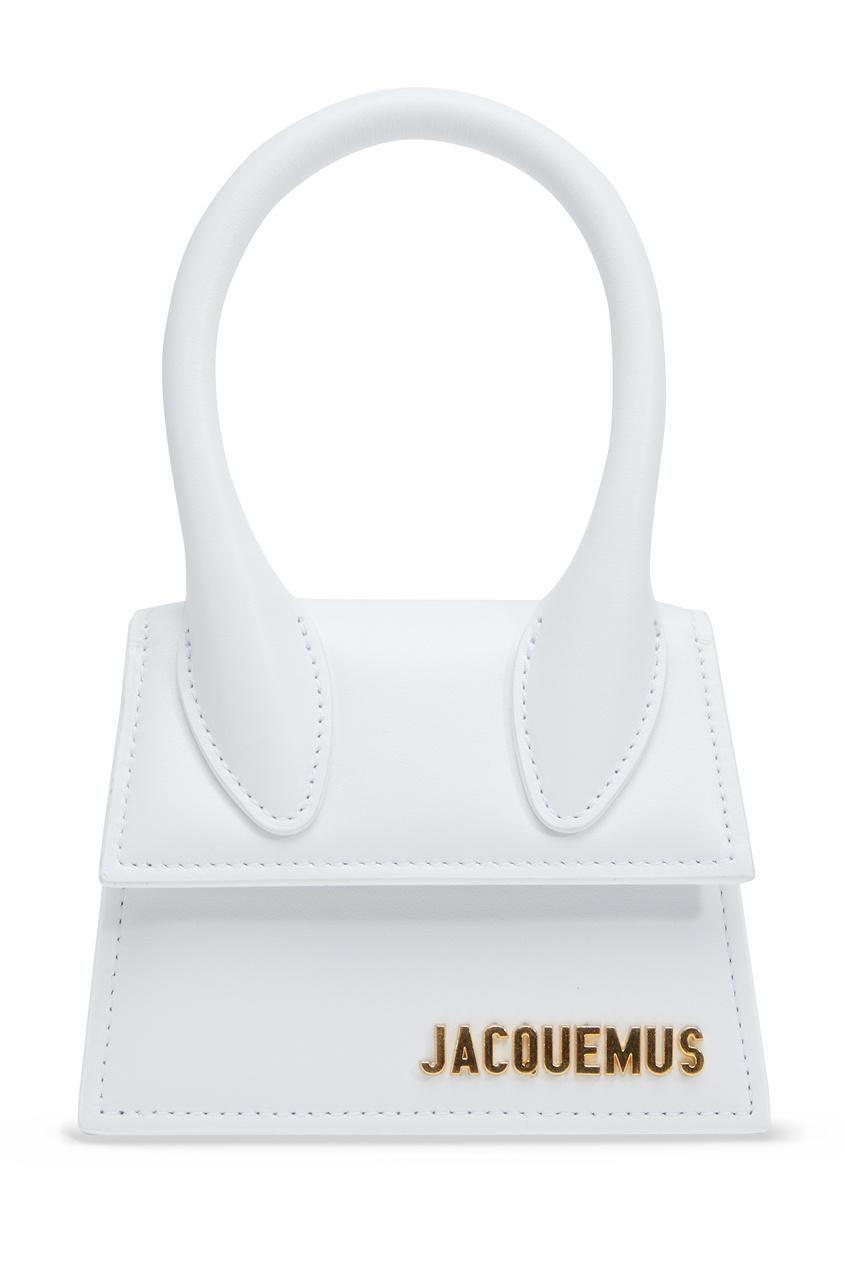 Белая кожаная сумка Le Chiquito