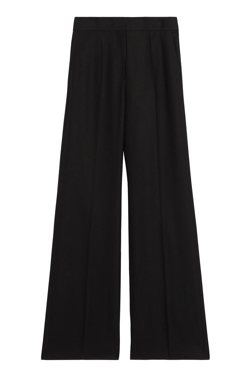 Черные широкие брюки