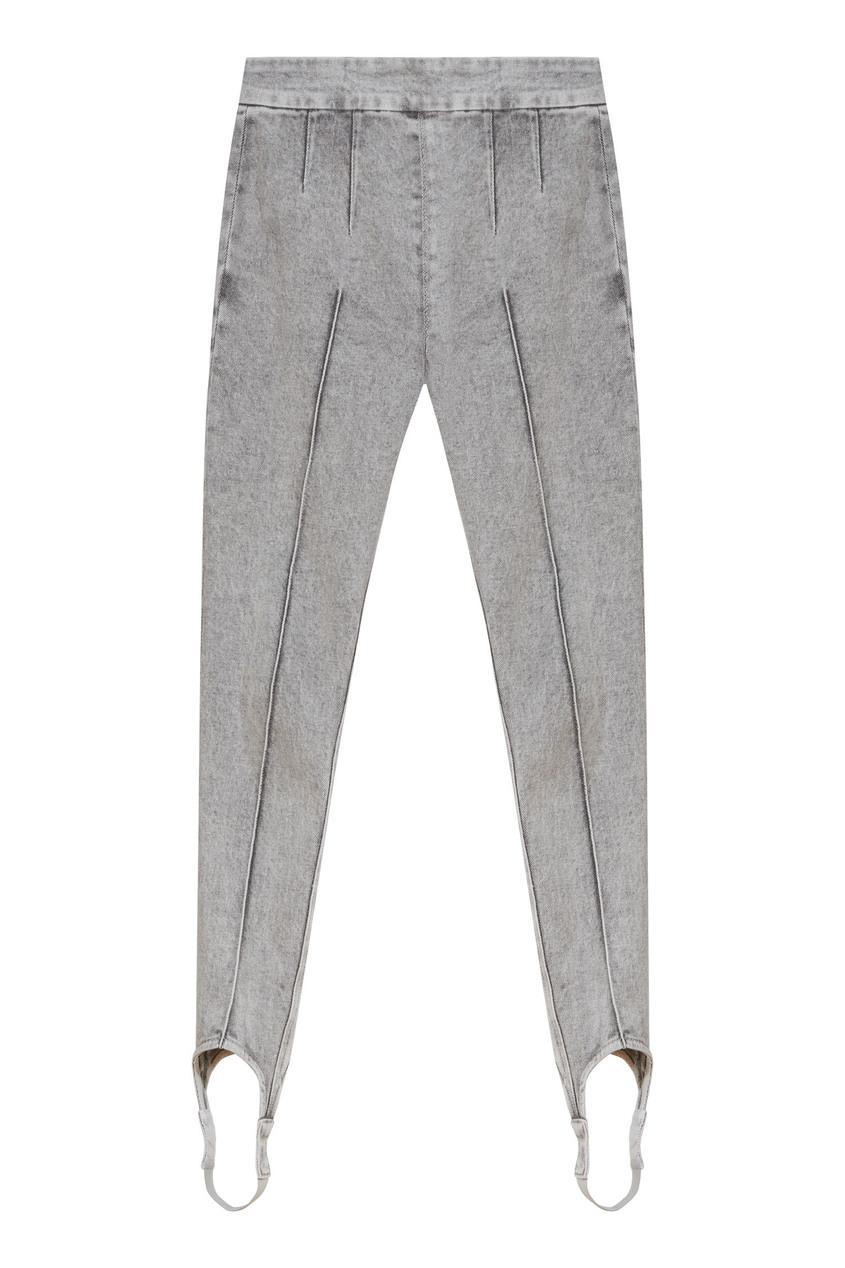 Серые джинсы со штрипками Nanouli