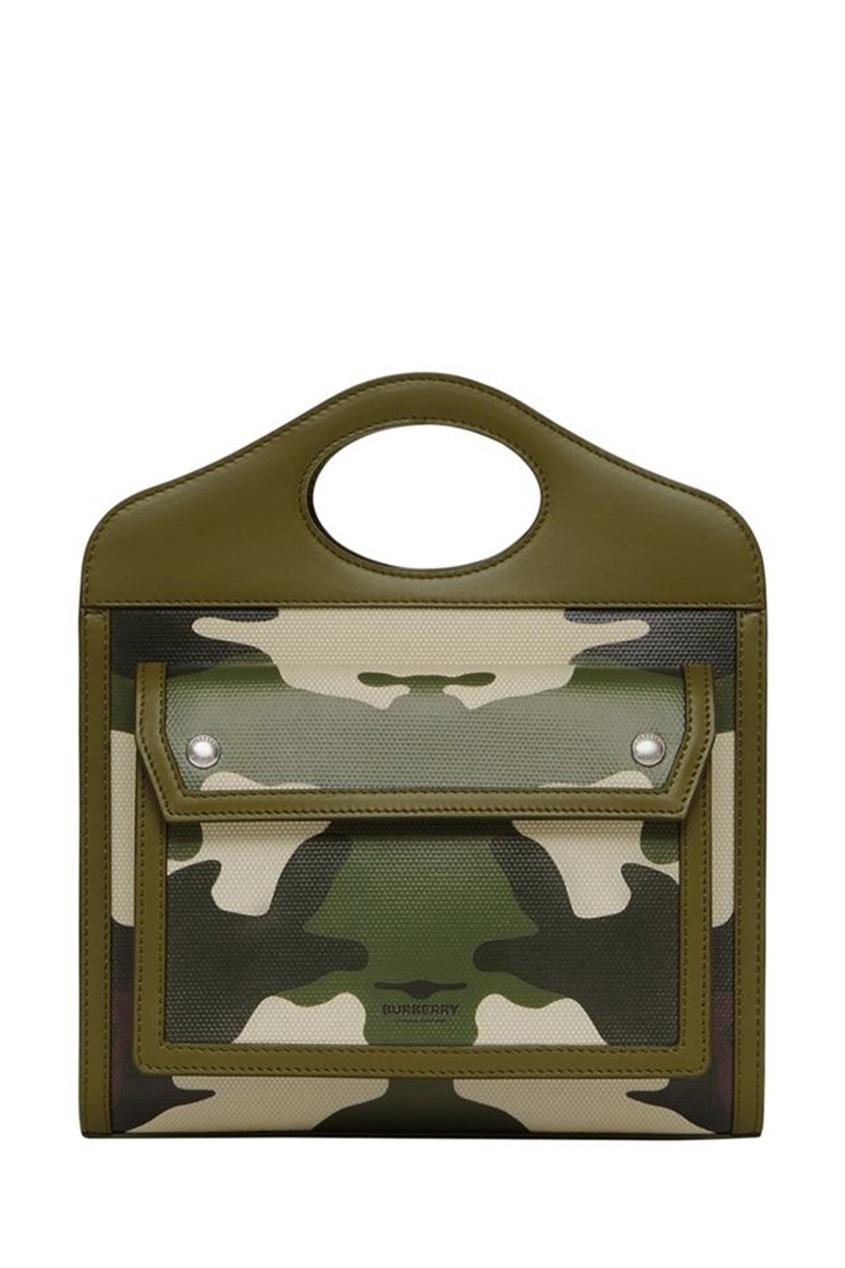 Миниатюрная камуфляжная сумка из парусины Pocket