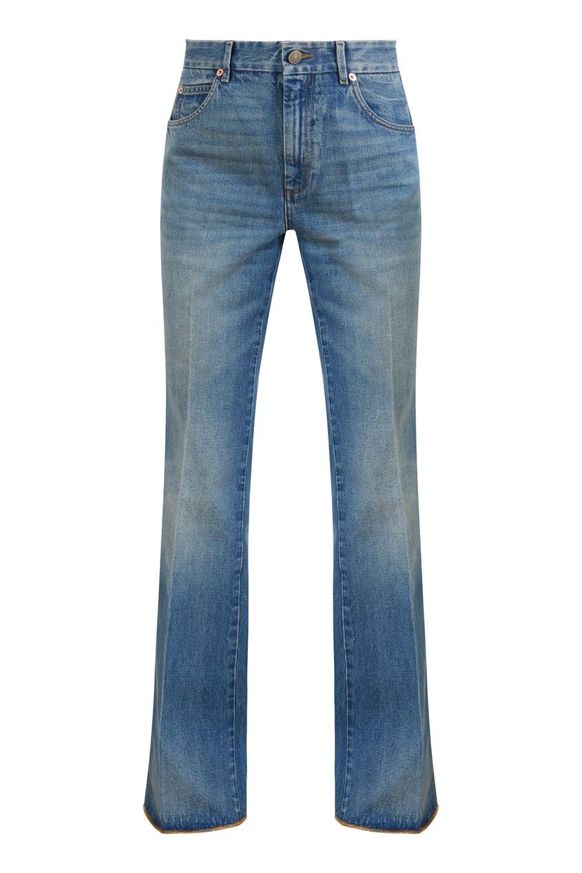 Синие джинсы со стрелками