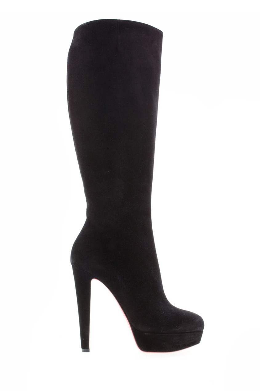 Замшевые сапоги Lady Boot 140