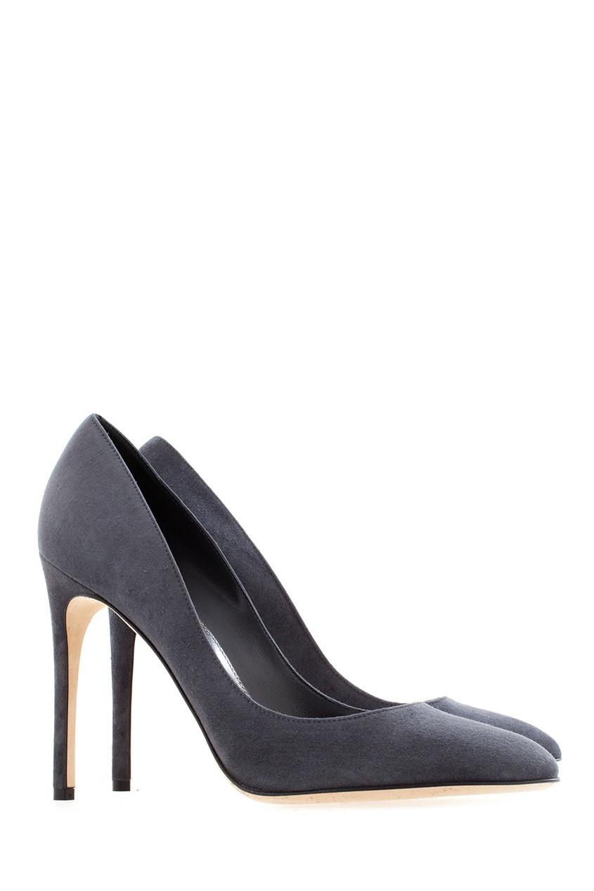 Замшевые туфли от AIZEL