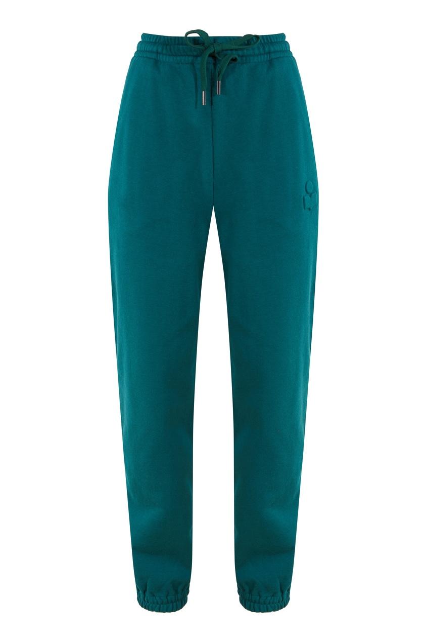 Зеленые джоггеры Isabel Marant Etoile зеленого цвета