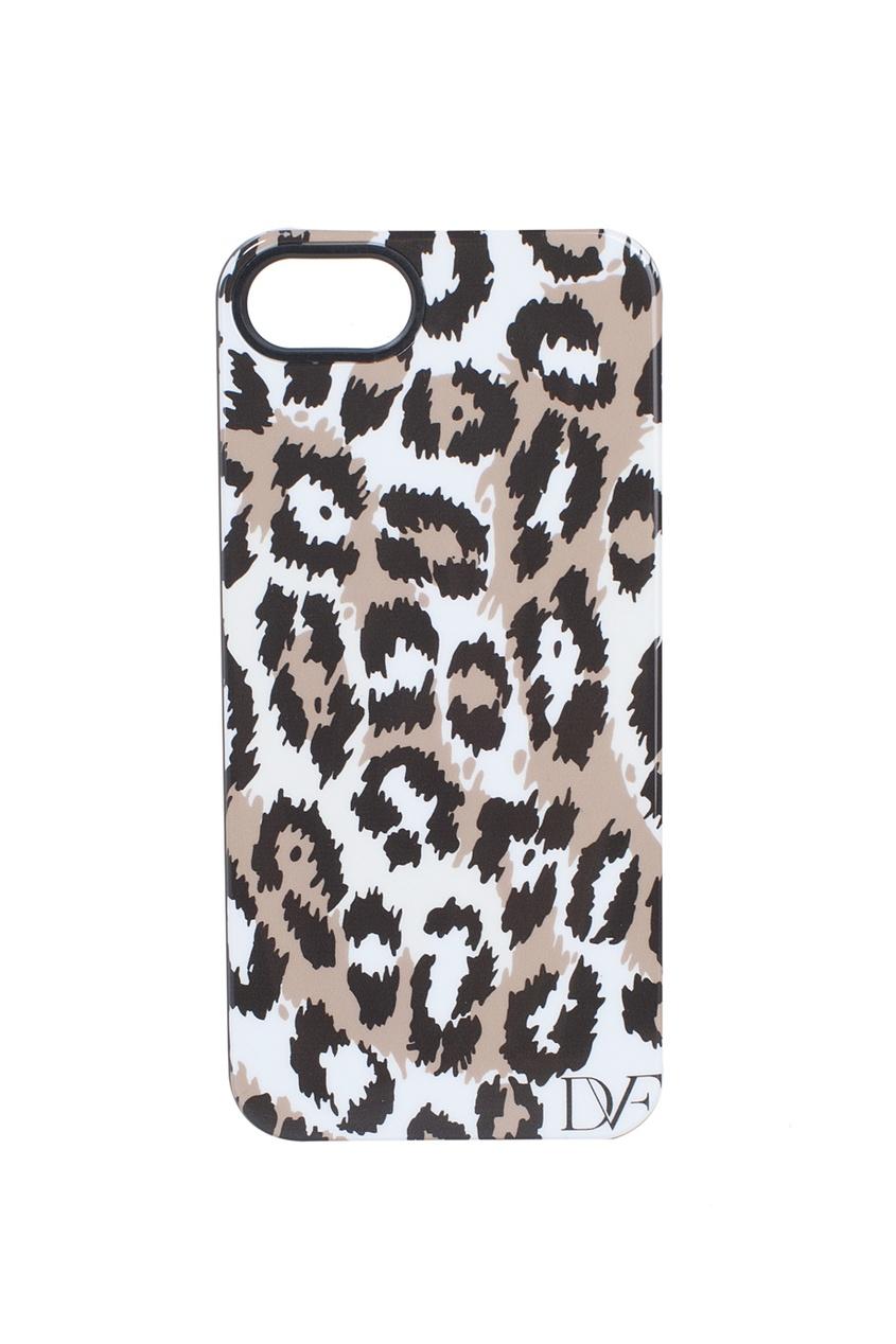 Чехол для iPhone 5 Leopard  Brown/Black