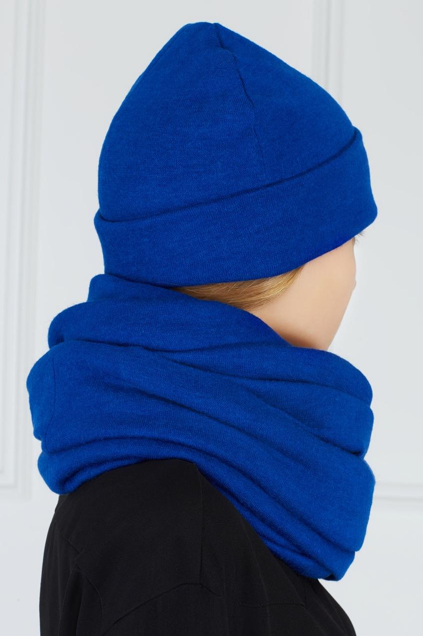Фото 4 - Однотонный комплект синего цвета